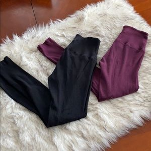 VS PINK ankle leggings X 2 Small